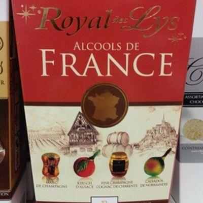 Chocolat noir extra fin fourré aux alcools de france (Abtey)