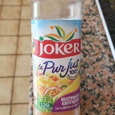 Le pur jus 100% 1.25l multifruits exotiques (Joker)