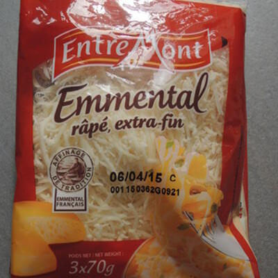 Emmental rapé extra fin entremont (Entremont)