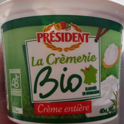 Crème entière bo (President)