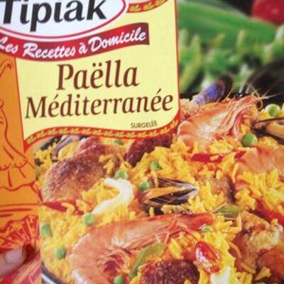 Paëlla méditerranée surgelée (Tipiak)