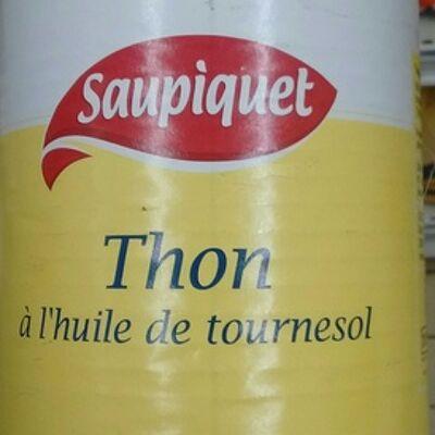 Thon à l'huile de tournesol (Saupiquet)