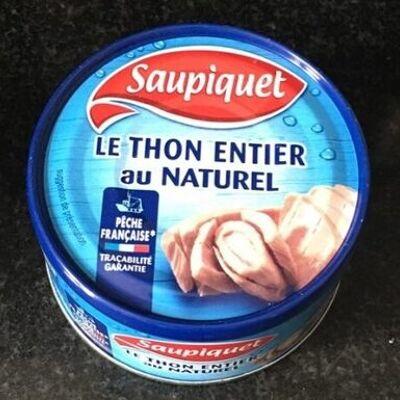 Thon entier au naturel (Saupiquet)