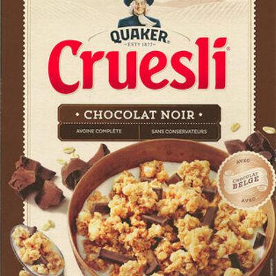 Cruesli chocolat noir (Quaker)