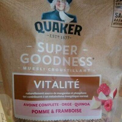 Super goodness muesli croustillant (Quaker)