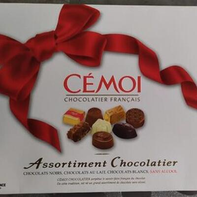 Assortiment chocolatier sans alcool (Cemoi)
