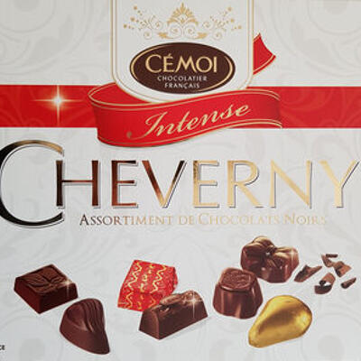 Cheverny assortiment de chocolats noirs intense (Cémoi)