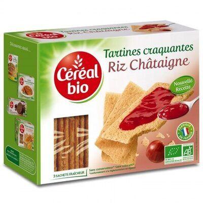 Tartines craquantes riz châtaigne (Céréal bio)