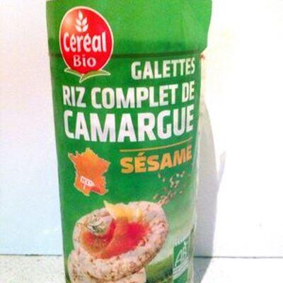 Galettes riz complet de camargue au sésame (Cereal bio)