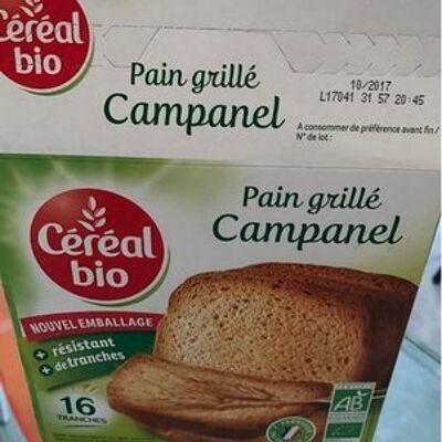 Pain grillé campanel (Cereal bio)