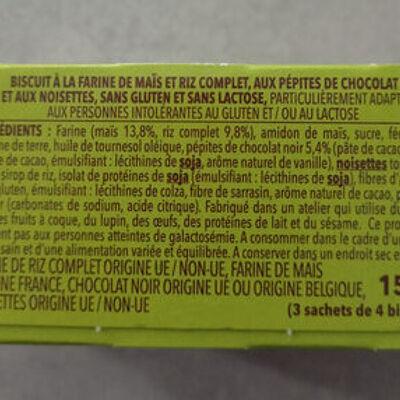 Choco noisette sans gluten et sans lactose (Gerblé)