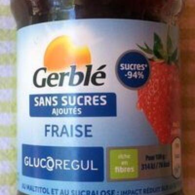 Fraise sans sucres ajoutés (Gerblé)