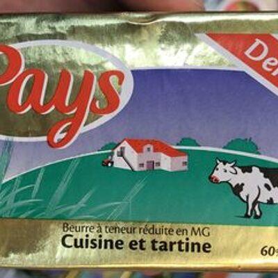 Cuisine et tartine demi-sel (Le pays)