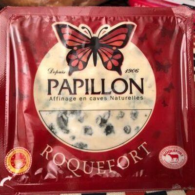 Roquefort papillon rouge 330 gr, 1 pièce (Papillon)