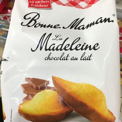 La madeleine chocolat au lait. (Bonne maman)