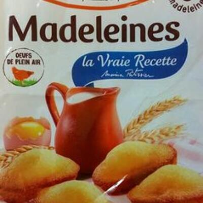Madeleines nature (St michel)