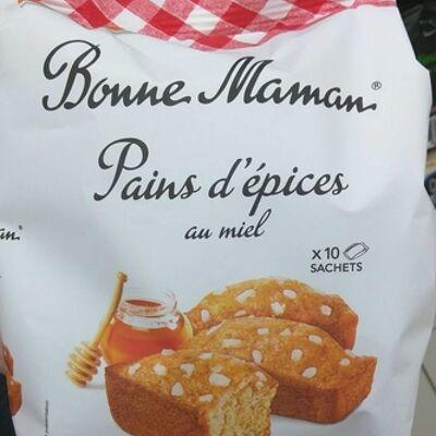 Pains d'épices au miel (Bonne maman)