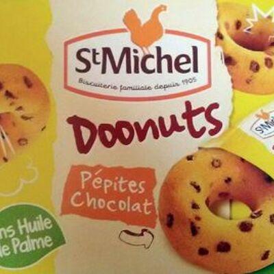 Doonuts aux pépites de chocolat (Saint michel)