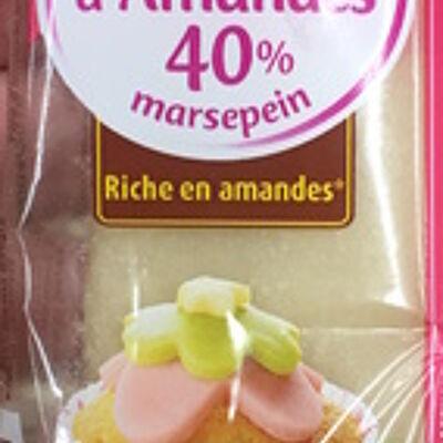 Pâte d'amandes 40% (Vahiné)