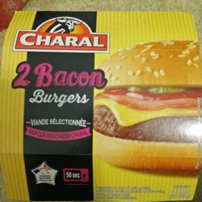 2 bacons burger (Charal)