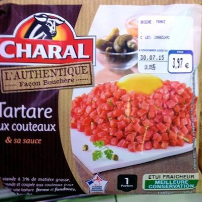 Tartare aux couteaux & sa sauce (Charal)