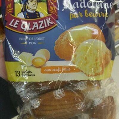Madeleine pur beurre (Le glazik)