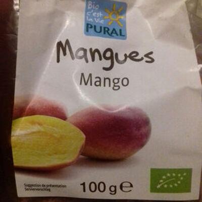 Mangues séchées (Pural)
