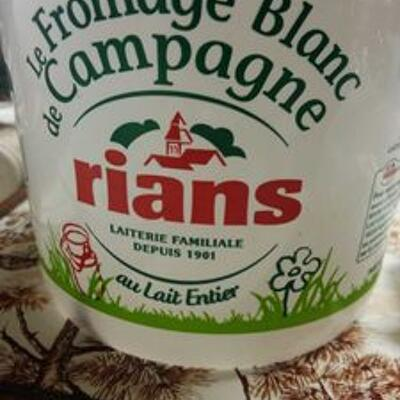 Fromage blanc de campagne (Rians)