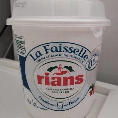La faisselle rians 0% (Rians)