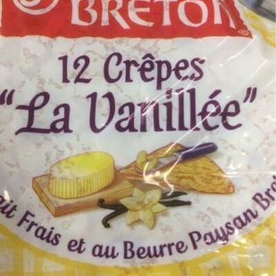 Crepes vanillee (Paysan breton)