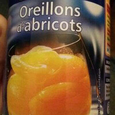 Abricots au sirop léger (Casino)