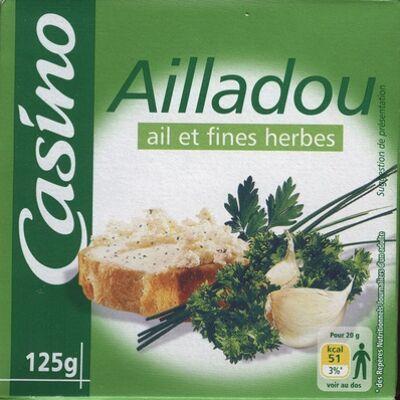 Ailladou ail et fines herbes (Casino)