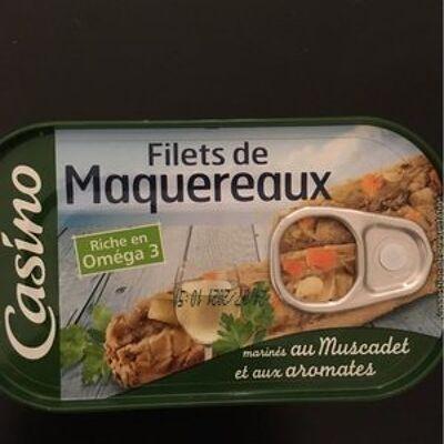 Filets de maquereaux marinés au muscadet et aux aromates (Casino)