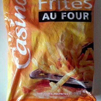 Frites spécial four (Casino)