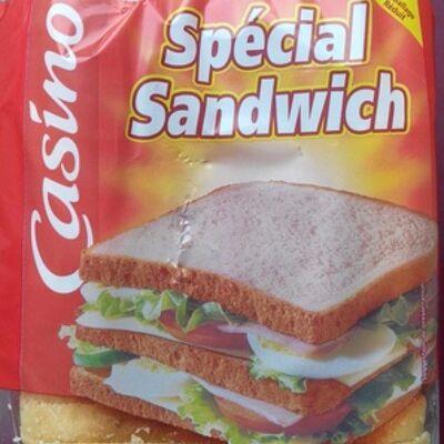 Pain de mie blanc - special sandwich (Casino)