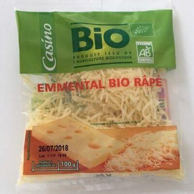 Emmental bio râpé (Casino bio)