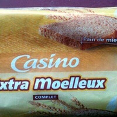 Pain de mie extra moelleux complet (Casino)