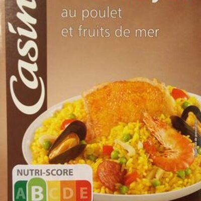 Paella au poulet et aux fruits de mer (Casino)