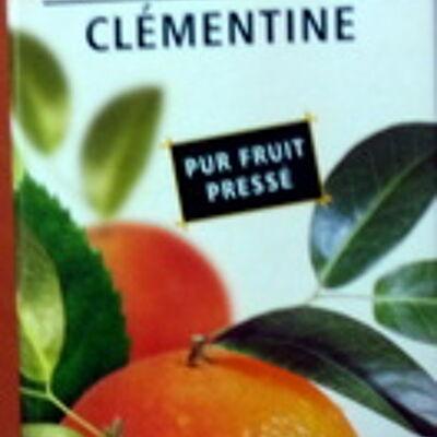100% pur jus clémentine flash pasteurisé - naturellement riche en vitamine c (Casino)