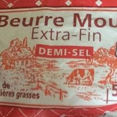 Beurre moulé extra-fin demi-sel (Casino)