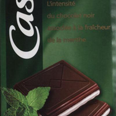 Chocolat supérieur - noir menthe (Casino)
