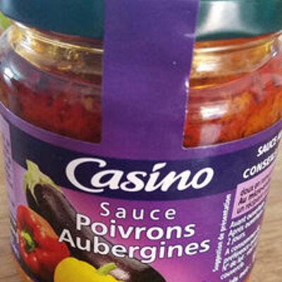 Sauce poivrons aubergines (Casino)
