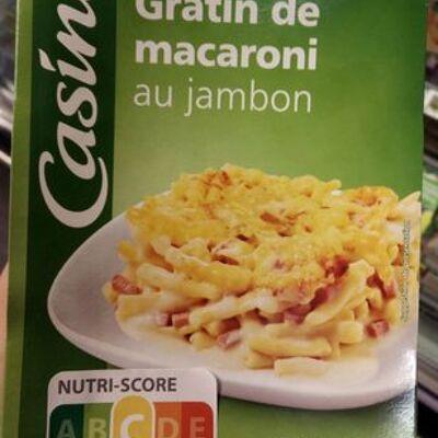 Gratin de macaroni au jambon 350g (Casino)