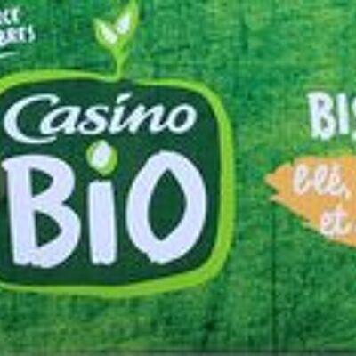 Biscuits blé, épeautre et sésame (Casino bio)