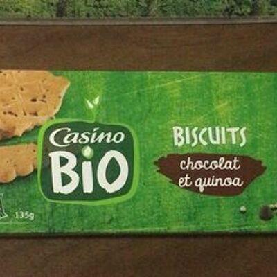 Biscuits chocolat et quinoa (Casino)