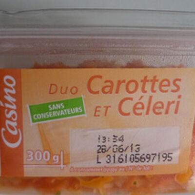 Duo carottes et céleri (Casino)