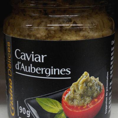 Le caviar d'aubergine (Casino délices)