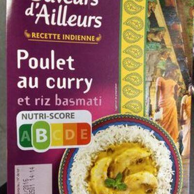 Poulet au curry et riz basmati (Casino saveurs d'ailleurs)