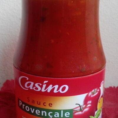 Sauce provençale à l'huile d'olive vierge extra 1,5% et au basilic (Casino)