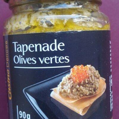 La tapenade d'olives vertes (Casino délices)